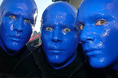 Blue Man Group (Foto: Chris Pizzello)